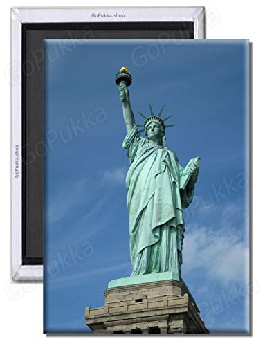GoPukka Statue of Liberty Souvenir - New York - NYC Fridge Magnet (Standard: 70x45mm)