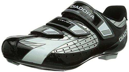 Diadora TRIVEX - Scarpe sportive, unisex - adulto, multicolore (silber/schwarz/weiß 1147), taglia 46