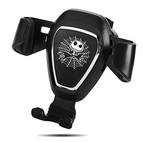 Nightmare Before Christmas Jack Skellington Car Mount Phone Holder Automatic Locking Universal Air Vent GPS Cell Phone Holder (for Jack Skellington)