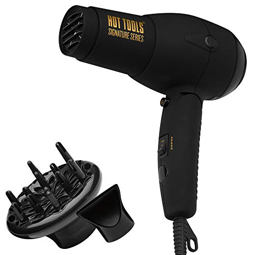 HOT TOOLS Signature Series 1875W Ionic Travel Hair Dryer