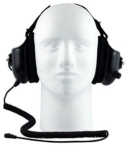 Noise-Reducing Race Scanner Headphones