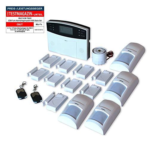 Multi Kon Trade GSM M2B Funk-Alarmanlage Set