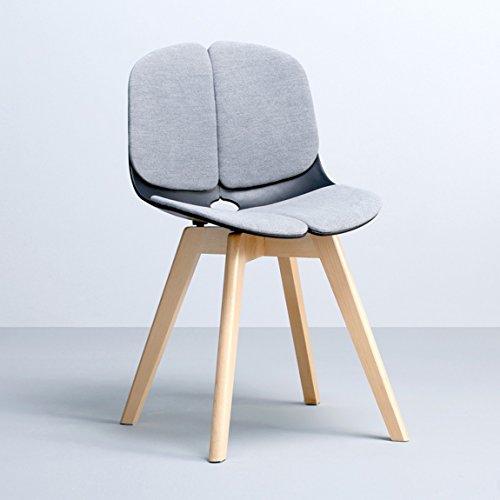 CKH moderne Europese stoel en kruk achterbank eenvoudig Amerikaanse ontvangst bureaustoel vrije tijd
