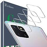 Ferilinso Kameraobjektivschutz für Samsung Galaxy Note 10 Lite Kameraobjektivschutz, [4 Stück] Panzerglas blasenfreier Hartglas-Schutzfilm für Samsung Galaxy Note 10 Lite (Transparent)