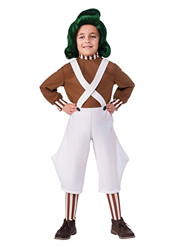 Rubie's Child Oompa Loompa Costume X-Large Brown