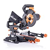 Evolution Power Tools - R210SMS+ Troncatrice Scorrevole Multi-Materiale 210 mm con Pacchet...