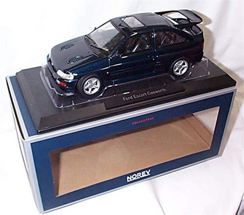 Norev FORD ESCORT RS COSWORTH 1992 Petrol Blue RHD car 1:18 scale diecast model