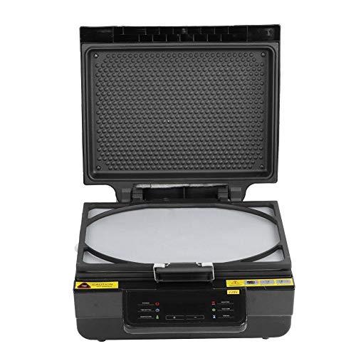 Wosune Máquina de Calor, Impresora de Tazas de 2800W 110V / 220V, Adorno de Cristal para Caja de teléfono(European Standard 220V)