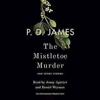 The Mistletoe Murder audiobook cover art