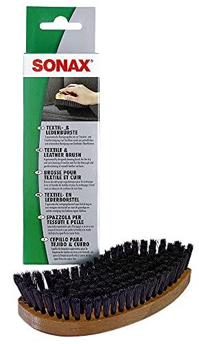 SONAX No de artículo 04167410 Cepillo para textiles + cuero (1 unidad)