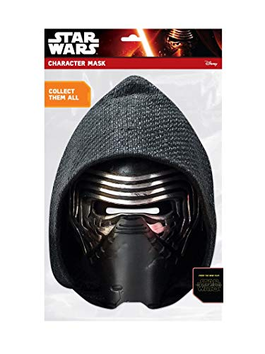 Star Wars - Careta de Kylo Ren de cartón, talla unica (