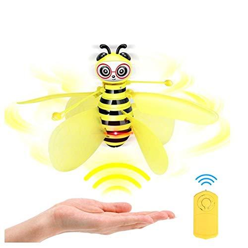 Kleine Biene Mini Drohne, Kinderspielzeug Geste Sensation Flugzeug Induktion Fernbedienung Fliegen Spielzeug Flugzeug Control Control Für Jungen MädchenHalloween Weihnachtsgeschenk Geburtstag