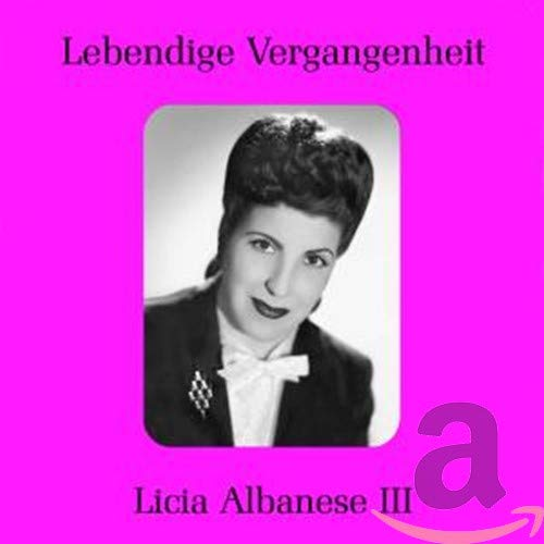 Tosti/Liszt/Scarlatti/Verdi : Lieder. Albanese.