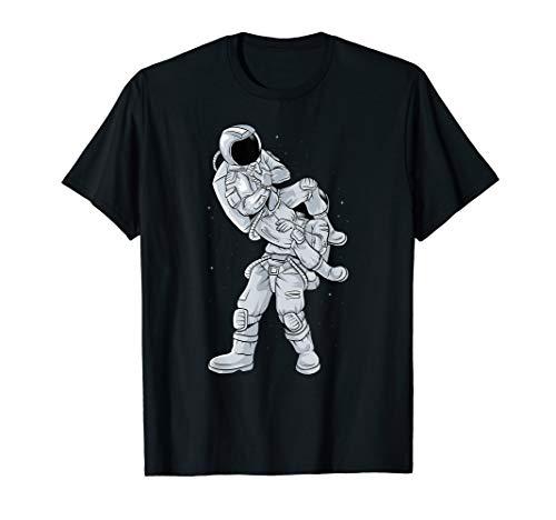 Galaxy BJJ Astronaut Tee Flying Armbar Jiu-Jitsu T-shirt T-Shirt