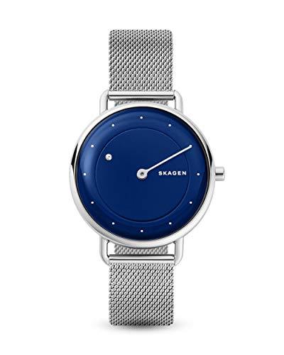 Skagen Damen Analog Quarz Uhr mit Edelstahl Armband SKW2738
