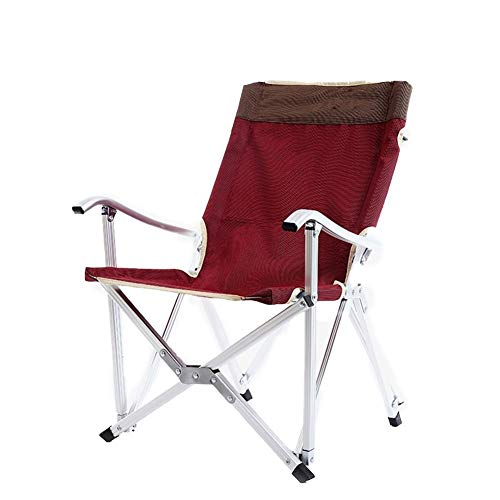 XuCesfs Folding Camp Chair Lightweight & Durable Outdoor Seat Perfect For Garden Caravan Trips Camping Festivals Fishing Beach BBQs