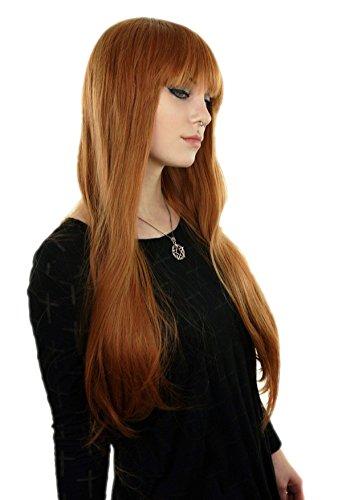adquirir pelucas melena con flequillo en línea