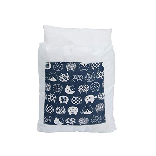 ASR Washable Closed Cat Bed, Pet Bed for Cat, Dog, Rabbit, Non-Slip Winter Warm Pet Bed (C)