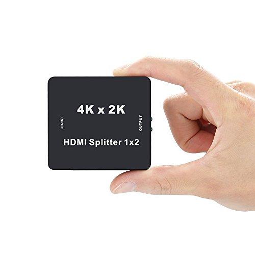『BLUPOW 4K30Hz HDMI分配器 1入力2出力 hdmiセレクター hdmiスプリッター 2160P 3D PS4 Xbox Blu-ray Fire TV Apple TVなど対応 2画面同時出力可能 VA22』の5枚目の画像