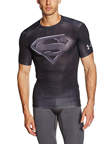 Under Armour Herren Kurzes Hülsen-T-Shirt,schwarz, S, 1244399-005