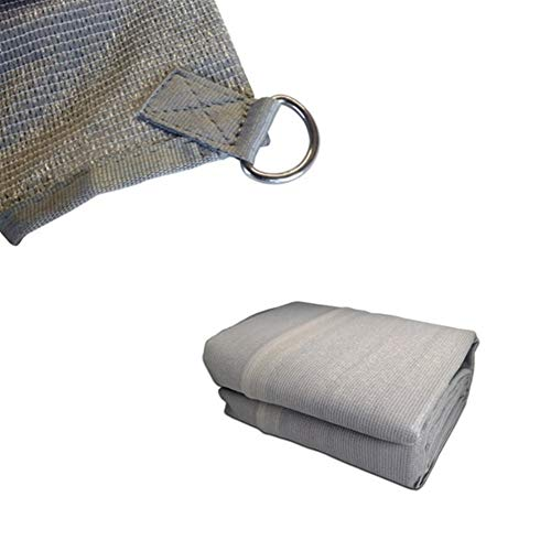 YKWYQ Sonnensegel Dreieckig 3.7/2.8m Auto-Seiten-Markise Dachzelt Sun Shelter Shade SUV Camping Überdachung im Freien Spielraum Wandern Zelte Kit Portable Markisen (Color : 2.8X1.8 M)