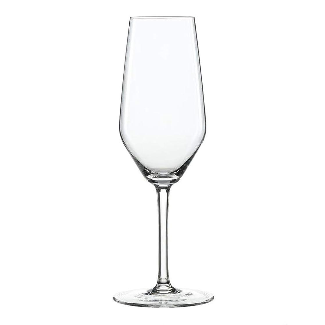 発症言語唯物論(Champagne Flutes) - Spiegelau 4670187 15.2 x 15.2 x 23.4 cm Style Champagne Flute Glass, Set of 4, Transparent