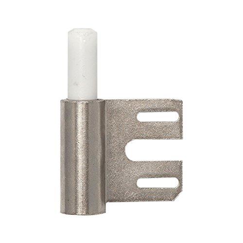 Türband-Rahmenteil V 8100 WF f. gefälzte Türen, Band ø 15 mm, Stahl vernickelt ; 1 Stück