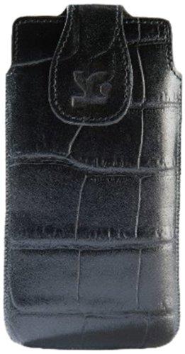 Suncase - Custodia Originale in Vera Pelle per Sony Xperia SP