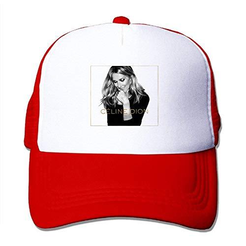 Swag Celine Dion - Encore Un Soir - 2016 Adult Nylon Adjustable Mesh Hat Baseball Cap Pink One Size Fits Most