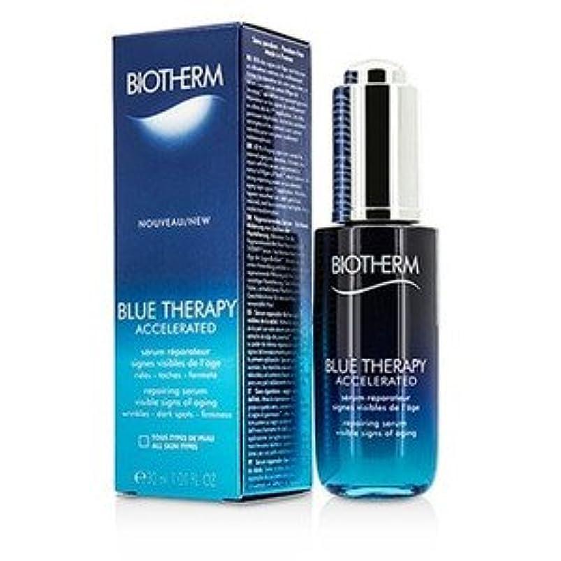 血統皮米国ビオテルム(Biotherm) ブルー セラピー アクセラレイテッド セラム 30ml/1.01oz [並行輸入品]