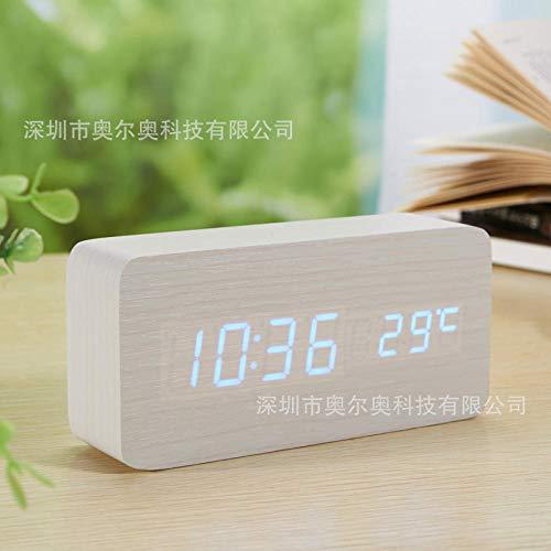 hlyhly Despertador Digital Reloj Digital Explosion-Shaped Re