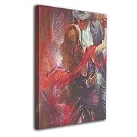 Skydoor J パネル ポスターフレーム 踊る カウボーイ インテリア アートフレーム 額 モダン 壁掛けポスタ アート 壁アート 壁掛け絵画 装飾画 かべ飾り 30×20