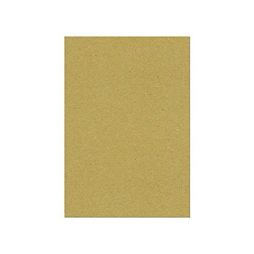 ペーパーミツヤマ 黄ボール紙 L44k A3 100枚 ボール紙 台紙 厚紙 工作用紙 A3 297mm×420mm