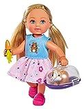 Simba 105733485 Evi Love Doktor Evi - Juego de cobayas (12 cm, para niños a Partir de 3 años)