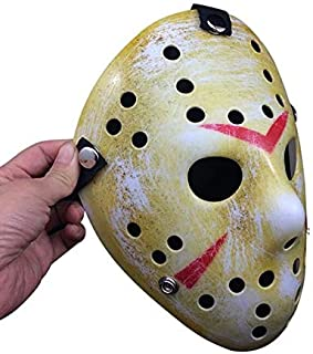 TANGGOOO Angrly New Jason Vs Horror Hockey Cosplay Costume Halloween Killer Masquerade Mask Halloween Mask Must Have Gifts Friendship Gifts The Favourite Comic Superhero Dream UNbox Box