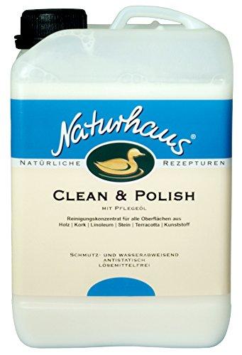 NATURHAUS NATURFARBEN Clean und Polish , 1 Stück, , Farblos, 3 l