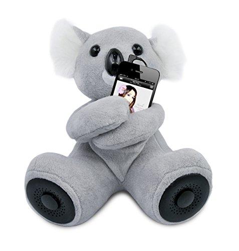 Hi-Fun Hi-Koali Speaker per iPhone, iPod e Lettori MP3 - Grigio