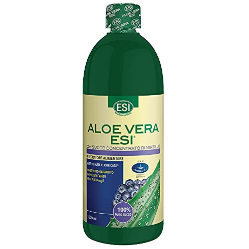 Aloe Vera Succo Al Mirtillo - 1000 ml