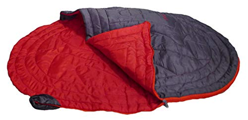 iEnergy JUL - dog blanket sleeping bag dog bed for dogs, ideal for camping, vacation, hiking, backpacking and excursions, one size for all breeds, 105x75x2.5cm (ONE)