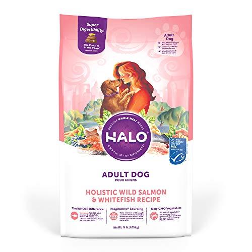 HALO Natural Dry Dog Food - Premium and Holistic...