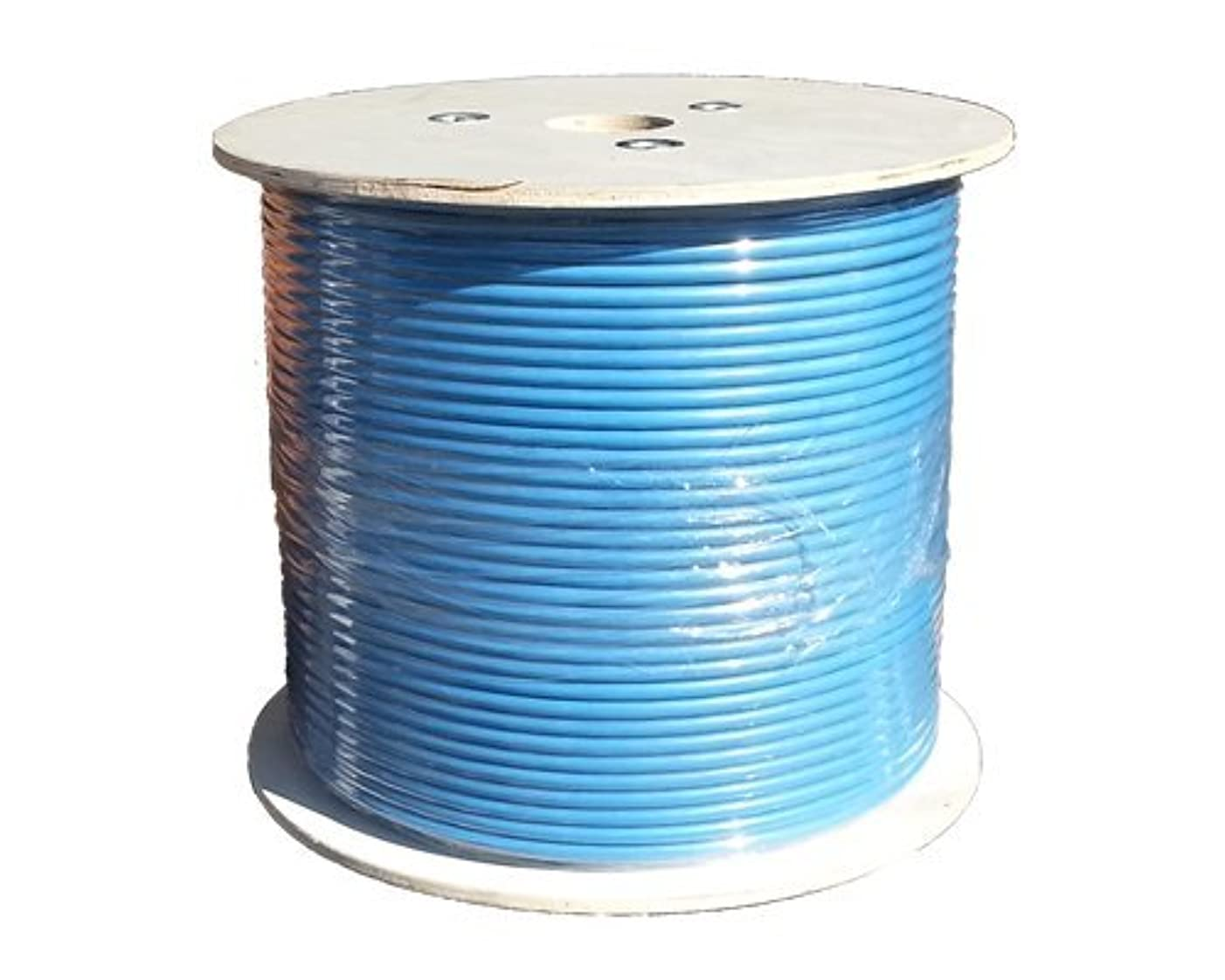 Sunnytech CAT7A 1000ft S-FTP CMR Riser, 1500MHz 10GBase-T Data, Solid 22AWG Installation Cable, Bulk Pack(w/20 pack Cat7A plug and Boot Cap Free)