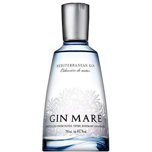 Gin Mare (1 x 0,7 l) – Würzig-aromatischer Gin aus Spanien