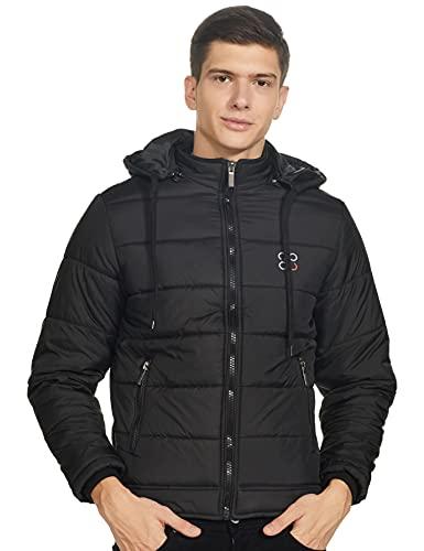 Cazibe Regular Men's Jacket (14745BT_Black_XL)