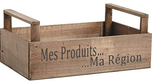 AubryGaspard Corbeille en Bois Mes Produits Ma Région