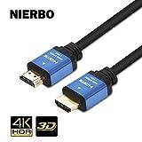 HDMIケーブル - 2m (タイプAオス - タイプAオス) Ver2.0(2.0規格) 4K 60Hz 18Gpbs信号伝送 PS4 Pro Xbox ゲーム機 DVD プレーヤー HDTVなど対応