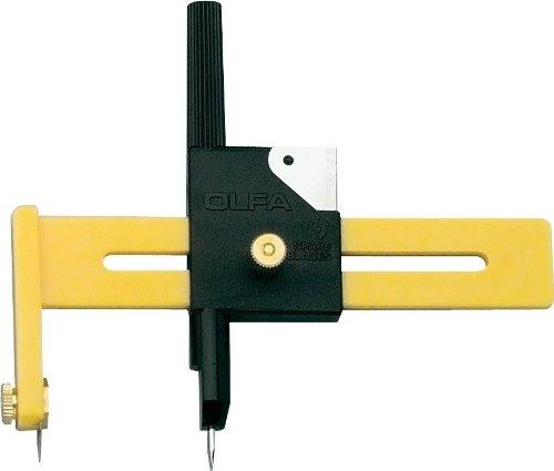 448700 - Kreisschneider Olfa CMP-1 - Ø 10 - 150 mm - inkl. 5 Ersatzklingen