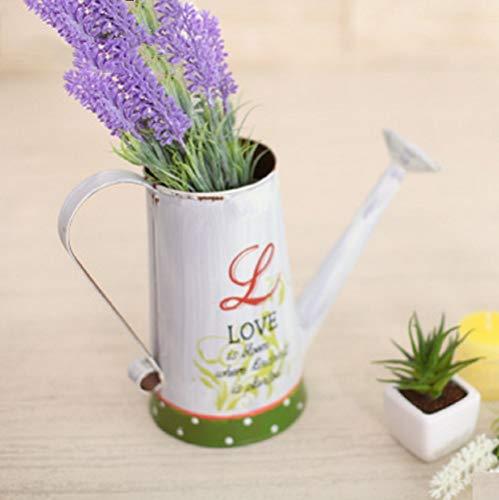 SD & EY Het decoratieve doel voor irrigatie kan de lengte van de dakgoot voor de kunstmatige bloemen van de tuin. Wit