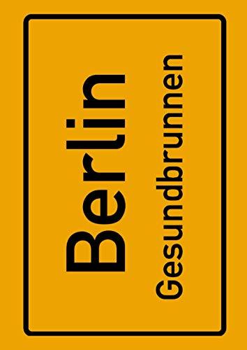 Berlin Gesundbrunnen: Deine Stadt, deine Region, deine Heimat! | Notizbuch DIN A4 liniert 120 Seiten Geschenk