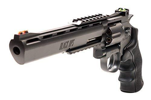 Black Ops Exterminator Pistol - CO2 Pistol Revolver BB Gun Full Metal