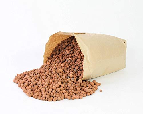 artplants.de Argilla espansa in granuli Argilla per Piante, Marrone, 10 Litri - Riempitivo per vasi Coltura idroponica